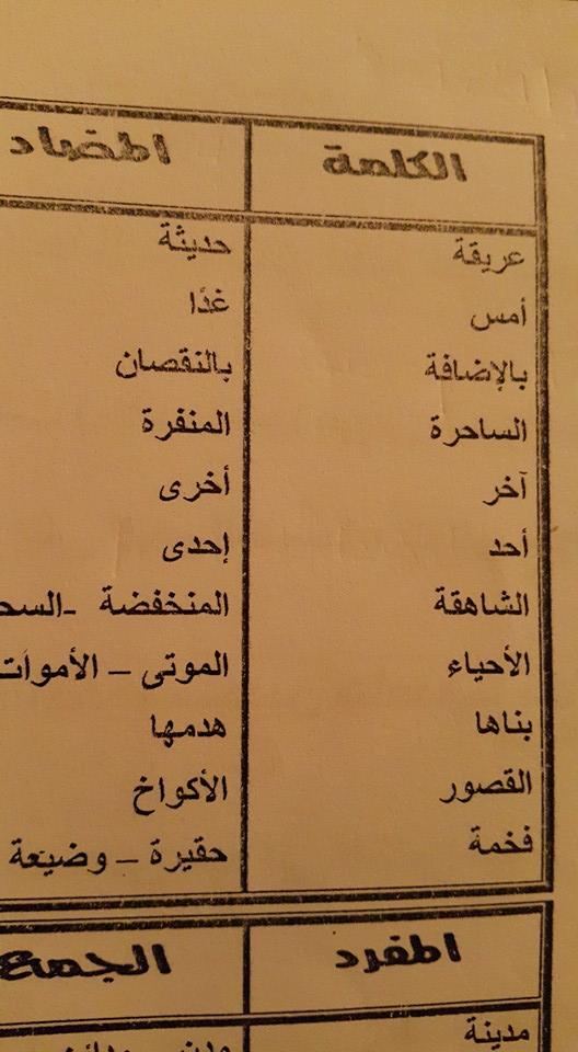 Photo of خطأ لغوي كبير في كتاب اللغة العربية للصف الرابع الابتدائي!