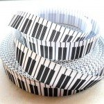 New-2015-Elegant-White-Piano-Keys-font-b-Music-b-font-22mm-Printed-Grosgrain-Ribbon-50