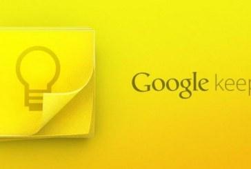 Google Keep سكرتير تحت الطلب