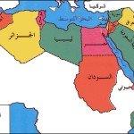 خريطة الدول العربية- اكتب صح
